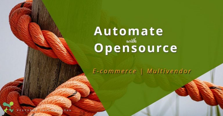 Using opensource technologies to automate your ecommerce business